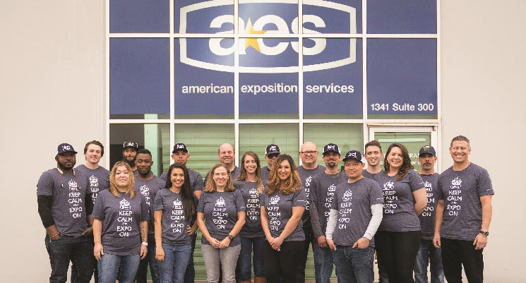 AES team photo